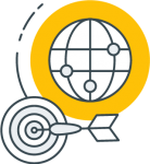Geofencing - yellow icon